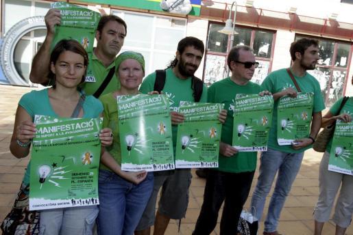 Presentación de la manifestación del 29-S contra el TIL.