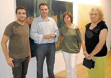 Jaume Orejuela, Miquel Planas, Inma Alonso y María José Corominas.