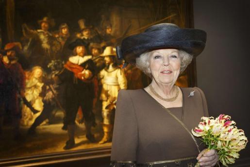 Beatriz de Holanda, en una imagen de archivo.