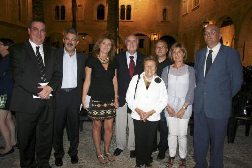 Álvaro Gibert, Máximo Romeral, Isabel Muñoz, Rafael Perera, Ignacia Morell, Manuel Redondo, Victoria Armengol y Miquel Deyá.