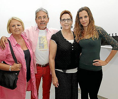 Pilar Rincón, J. Antonio Salas, Jema Fernández y