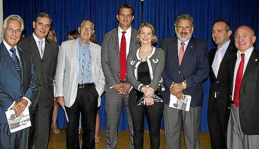 Felipe Moreno, Josep Ramis, Antonio Comas, Miguel Ángel Grimalt, Margalida Prohens, Bernat Coll, José Miguel García y Francisco Martorell.