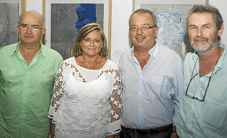 Fiesta del artista Luis Maraver