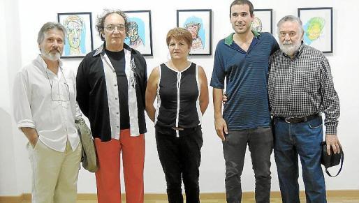 Angel Pascual, Toni Sans, Teresa Castell, Francesc Lacomba y Joan Lacomba.