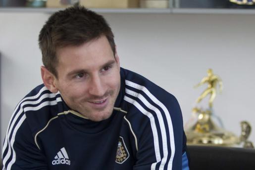 Messi, en una foto de archivo.
