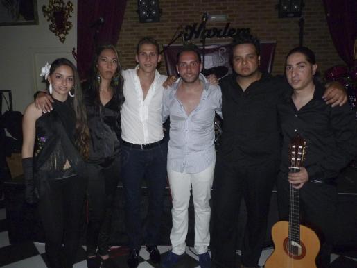 Isa Marín, Sara Fernández, Juanjo y Kiko Carmona, Miguel Amaya y Dani Cortés actuaron esa noche.