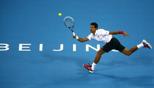 El serbio Novak Djokovic, durante el partido ante Richard Gasquet.