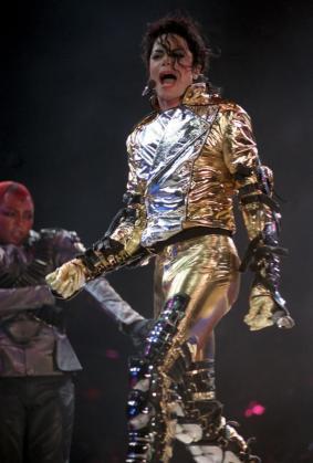 Fotografía de archivo de Michael Jackson.