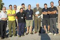 Homenaje a los pilotos que sofocaron el incendio de la Serra de Tramuntana