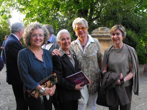 Maria Fortuny, Rosita Dausset, Renée Micouland y Magdalena Palliser.