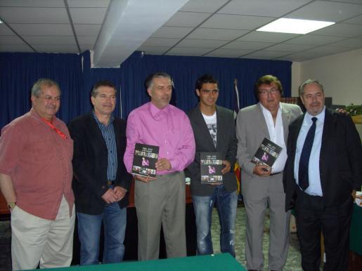 Miquel Vidal, Antonio Orejuela, Matías Adrover, Gonzalo Castro, Miquel Bestard y Rogelio Rangel.