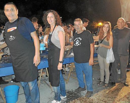 Jeroni Salom, Antònia Servera, Joan Seguí, Margalida Vachiano y Joan Pujadas.