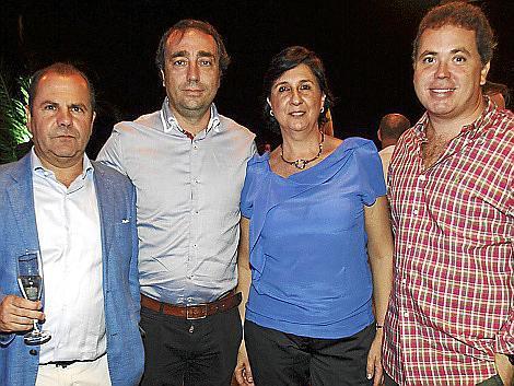 Josep Mallol, José Miguel Fabregal, Lourdes Tomás y Jaume Rodríguez.