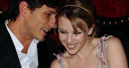 La pareja formada por Kylie Minogue y Andrés Velencoso, en una foto de archivo.
