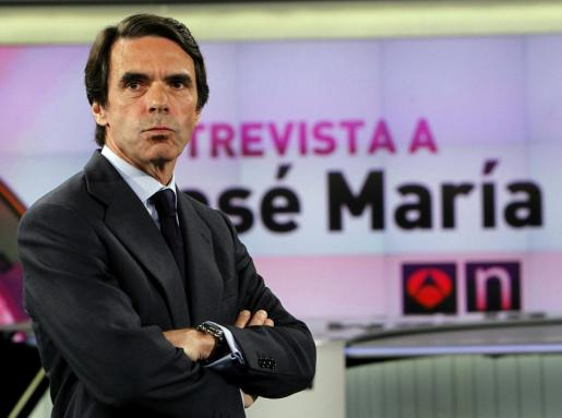 El expresidente del Gobierno José María Aznar, en una foto de archivo.