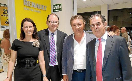 Coloma Tomàs, Carlos Fraile, Armando García y Joan Jaume.