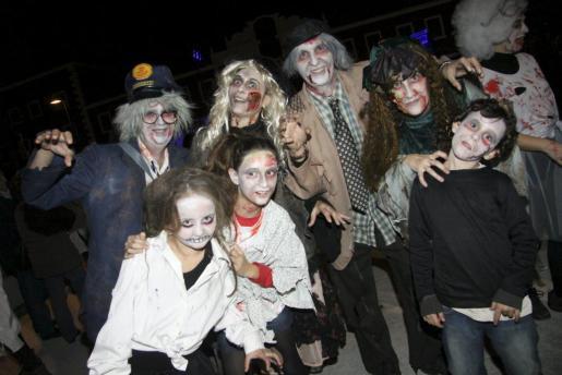 Imagen de archivo de una fiesta de Halloween en Menorca.