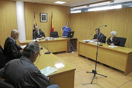 Imagen captada ayer, durante la última sesión del juicio. g Foto: M. Á. CAÑELLAS