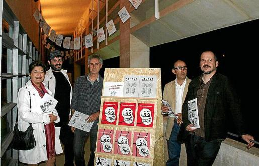 Elvira Cámara, Tolo Cañellas, Julio León, Juan Oliver y Francesc Ruiz.