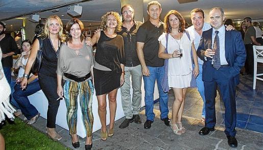 Alicia Llobet, Mª José Suasi, Ana Asensio, Batiste Alemany, Tomeu Martí, Rosario Pérez, Iván Plasencia y Jesús Martínez.