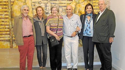 Alejo Castañer, Cristina Escape, Cristina Abellanet, Joan Bennàssar, Mila Cerdà y Carlos Maximilià Morales.