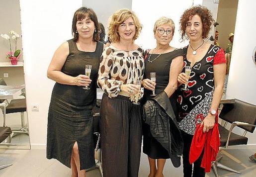 Sofía Baidalieva, Flor Bravo, Laura Salvans y Marilén Salamanca.