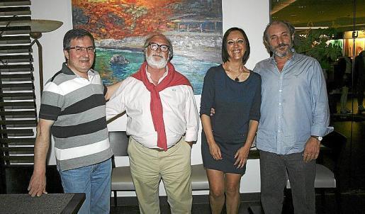José Antonio Marín, Camargo, Lina Mir y Rafel Calle.