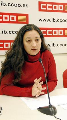 Katiana Vicens, de CCOO.