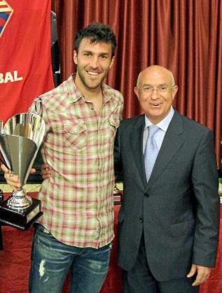 Víctor y Serra Ferrer, en una imagen de archivo.