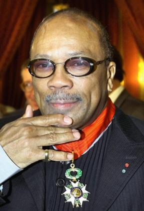 Quincy Jones, compositor americano.