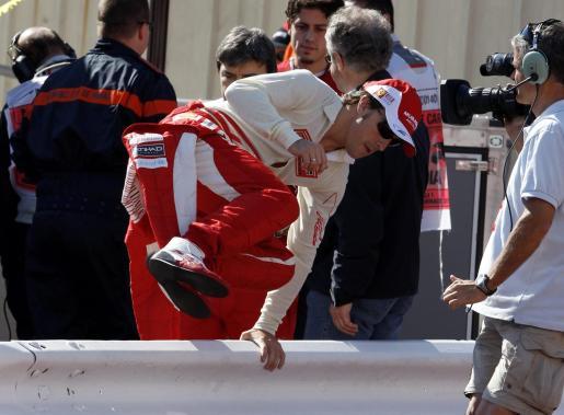 Fernando Alonso, hoy en Montecarlo.