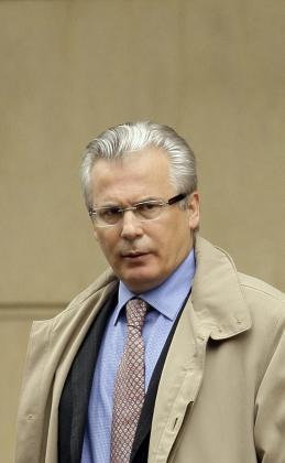 El juez de la Audiencia Nacional Baltasar Garzón .