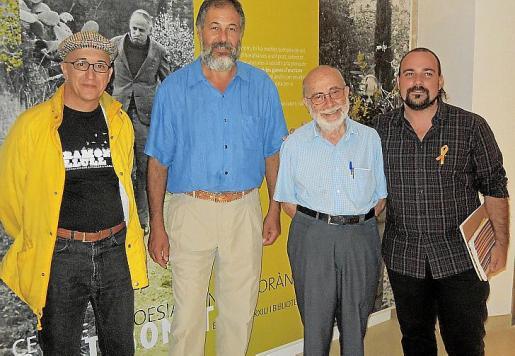 Domènec Almerge, Toni Mestre, Jaume Serra y Pau Vadell.