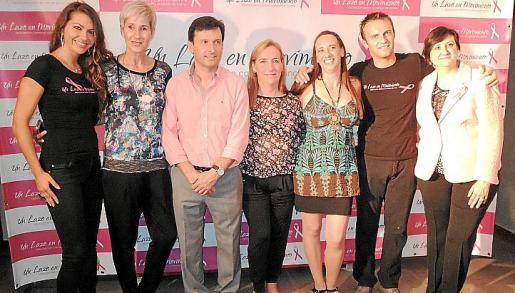 Andrea Gabriela, Linda Breevaart, José Antonio Armiñán, Maria Algar, Sylvia Van de Schraaf, Samuel Lagast y Rosa Simó.