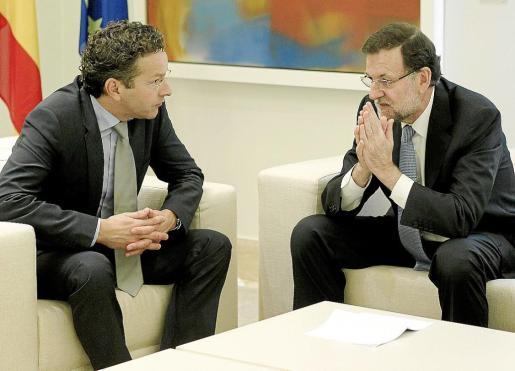 El también ministro de Finanzas de los Países Bajos se reunió ayer en La Moncloa con Rajoy.