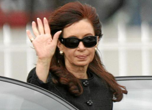 Fotografía de archivo de la presidenta de Argentina, Cristina Fernández, ganadora del pulso con el grupo Clarín.