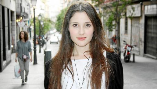 La mallorquina Laura Díaz, fotografiada en Madrid, donde llegó a los 17 años para acudir a la universidad e intentar ser actriz.