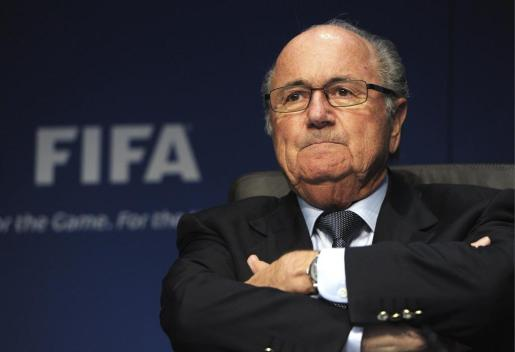 El presidente de la FIFA, Joseph S. Blatter, el pasado mes de marzo en Zúrich.