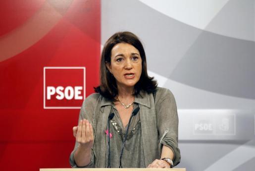 Imagen de archivo de Soraya Rodríguez, portavoz del PSOE en el Congreso de los Diputados.