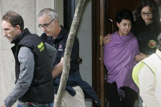 Los padres de la niña hallada muerta, Alfonso Basterra y Rosario Porto.