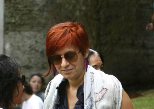 Sandra Ortega Mera, hija de la empresaria Rosalía Mera, fallecida recientemente.