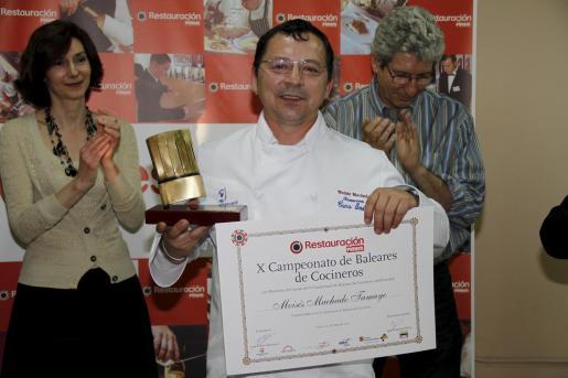 Moisés Machado es el chef del restaurante Ca Na Sofía de Sant Josep.