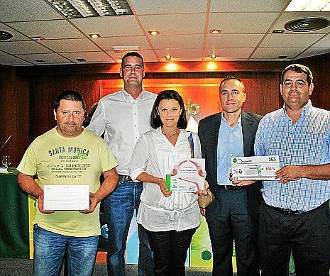 Jaume Ginard, Fernando de Ysasi, Isabel López, Jesús Iglesias y Francisco Huete.