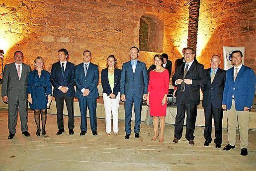 Jesús Boyero, Núria Riera, Mateo Isern, Rafael de Miguel, María Salom, José Ramón Bauzá, Margalida Durán, Josep Roquer, Casimiro Sanjuán y Gabriel Company.