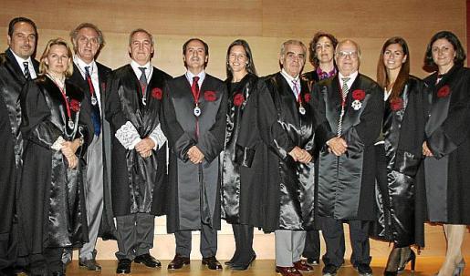 Felipe Amengual, Bruna Negre, Francisco Riera, Martín Aleñar, Salvador Perera, Francisca Martorell, José Miguel del Campo, María Serrano, Bernardo Garcías, Patricia Campomar y Carmen López.