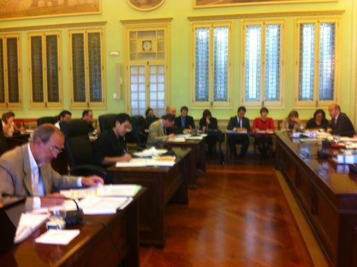 Imagen de la comisión del Parlament sobre los presupuestos.