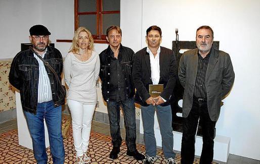 Lluís López, Aina Pastor, Salvador Martínez, Oscar Mayol y Paco Lorente.