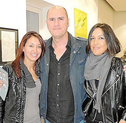 Mariolina Espósito, Daniel Roibal y Celeste Mansilla.