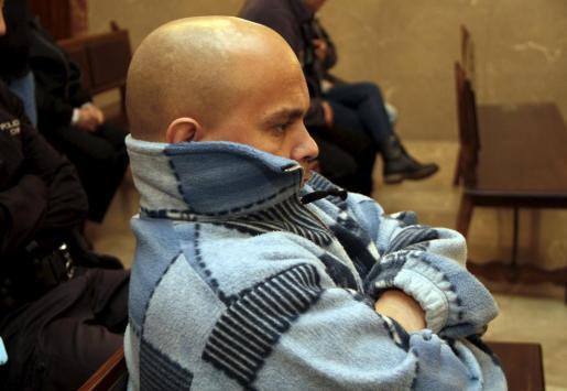 Alejandro de Abarca, alias 'El Enano', durante el juicio.