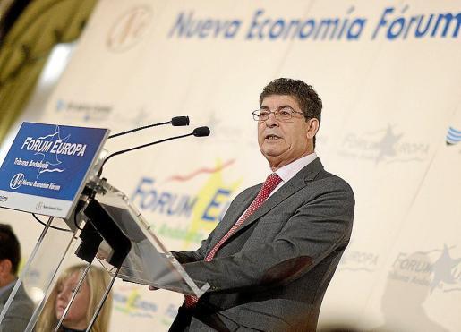 El vicepresidente y consejero de la Junta de Andalucía, Diego Valderas.